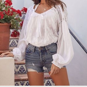 Free people Maria Maria lace top